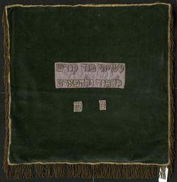 Plášť, na Tóru, zamat - A00098