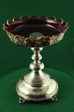 Misa, na Purim, sklo, striebro - E00008