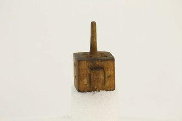 Dreidl drevený - G00069